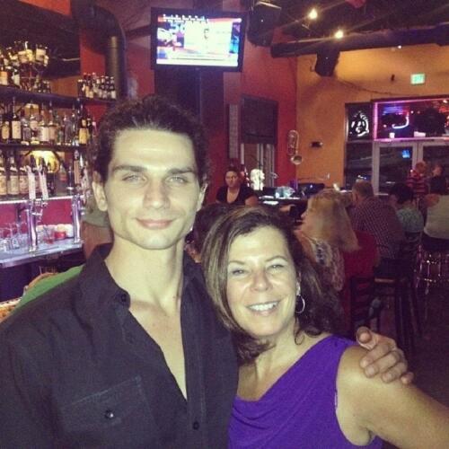 Joe Chierotti with Mother Donna Demis near Denver/Boulder, Colorado